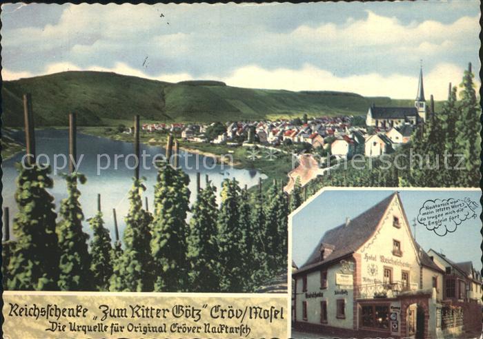AK / Ansichtskarte Kroev Mosel Reichsschenke Zum Ritter Goetz Kat. Kroev