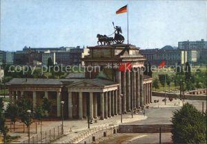 AK / Ansichtskarte Berlin Brandenburger Tor mit Mauer Kat. Berlin