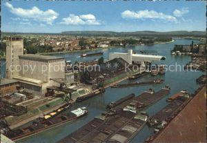 AK / Ansichtskarte Basel BS Rheinhafen Kat. Basel