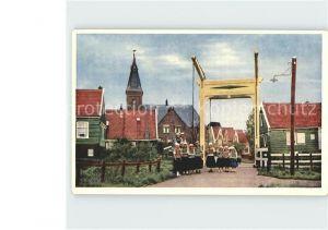 AK / Ansichtskarte Marken Niederlande Kirche Teilansicht Kat. Niederlande
