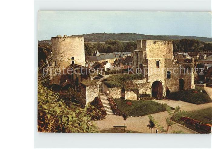 AK / Ansichtskarte Gisors Eure Donjon Chateau Fort  Kat. Gisors