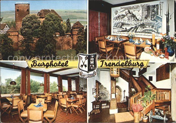 AK / Ansichtskarte Trendelburg Burghotel Trendelburg Kat. Trendelburg