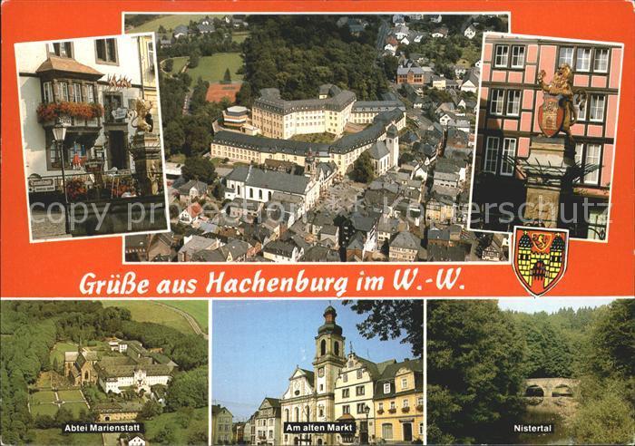 5238 Hachenburg Marienstatt Cistercienserabtei Ansicht