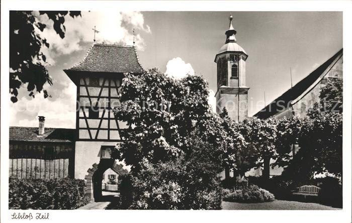 AK / Ansichtskarte Leutkirch Schloss Zeil Kat. Leutkirch im Allgaeu