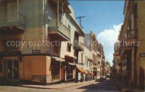 AK / Ansichtskarte San Juan Puerto Rico Fortaleza Street Kat. San Juan
