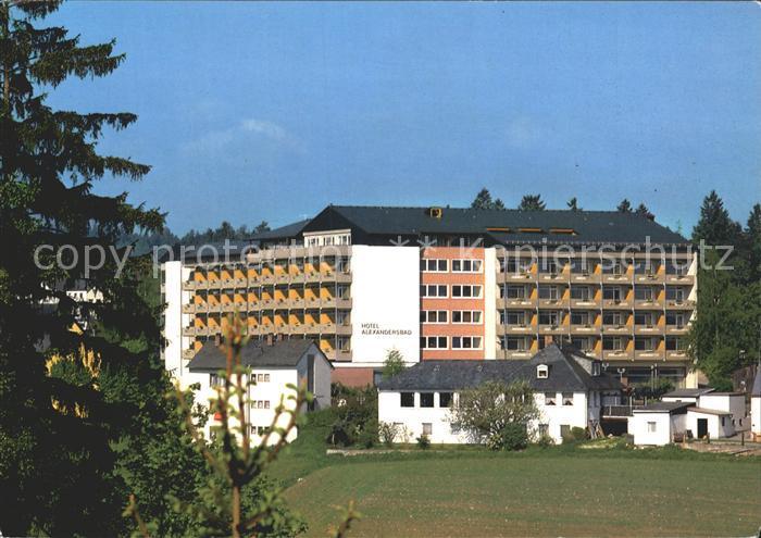 AK / Ansichtskarte Bad Alexandersbad Hotel Alexandersbad Kat. Bad Alexandersbad