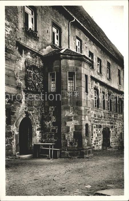 AK / Ansichtskarte Alpirsbach Kloster Westfluegel Ehemalige Abtswohnung Kat. Alpirsbach