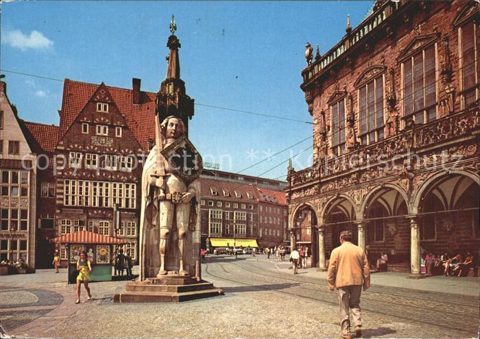 AK / Ansichtskarte Bremen Roland Kat. Bremen