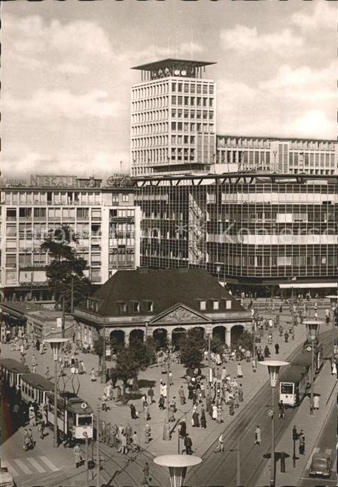 AK / Ansichtskarte Frankfurt Main Hauptwache Fernmeldehochhaus Kat. Frankfurt am Main