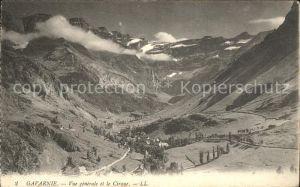 AK / Ansichtskarte Gavarnie Hautes Pyrenees Vue generale et le Cirque Kat. Gavarnie