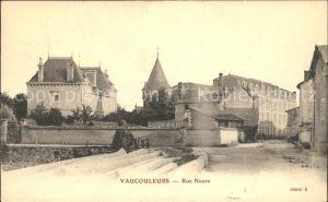 AK / Ansichtskarte Vaucouleurs Rue Neuve Chateau Kat. Vaucouleurs