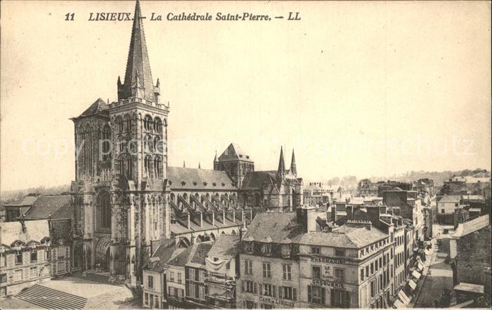 AK / Ansichtskarte Lisieux Cathedrale Saint Pierre Kat. Lisieux