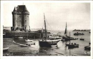 AK / Ansichtskarte Saint Servan Ille et Vilaine Port Saint Pere Tour Solidor Bateau Kat. Saint Malo