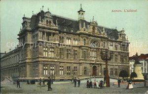 AK / Ansichtskarte Anvers Antwerpen Athene Monument Kat.