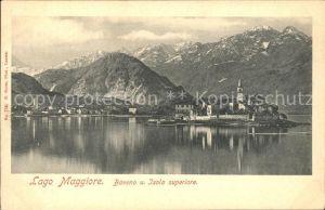AK / Ansichtskarte Baveno Isola superiore Lago Maggiore Kat. Lago Maggiore
