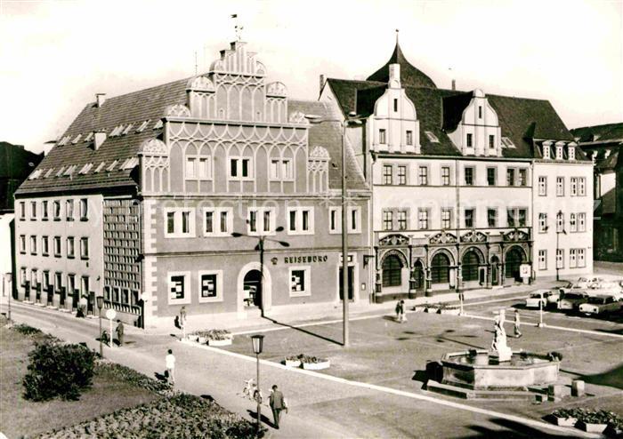 AK / Ansichtskarte Weimar Thueringen Weimar Stadthaus und Lucas Cranach Haus Kat. Weimar