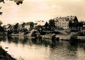 AK / Ansichtskarte Falkenau Sachsen Flusspartie Kat. Falkenau Sachsen