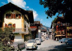 AK / Ansichtskarte Evolene Une rue du village Kat. Evolene