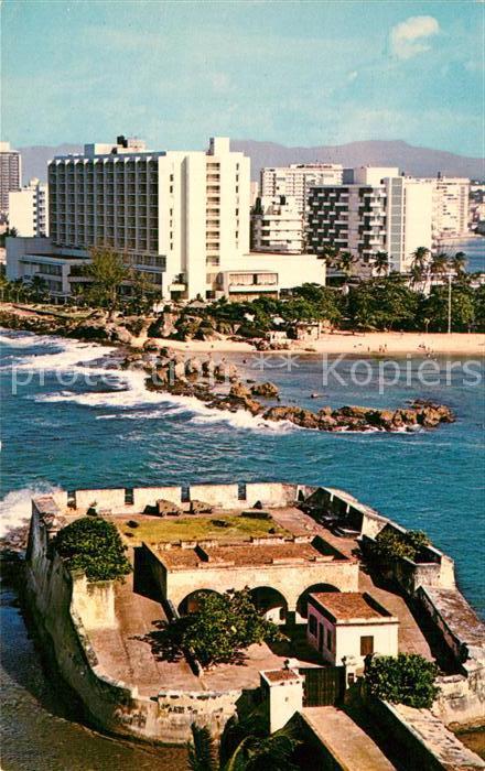 AK / Ansichtskarte San Juan Puerto Rico Fort San Jeronimo Condado Section  Kat. San Juan
