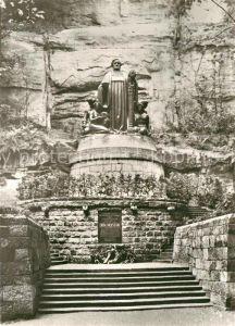 AK / Ansichtskarte Liebethal Richard Wagner Denkmal Lochmuehle Liebethaler Grund  Kat. Pirna