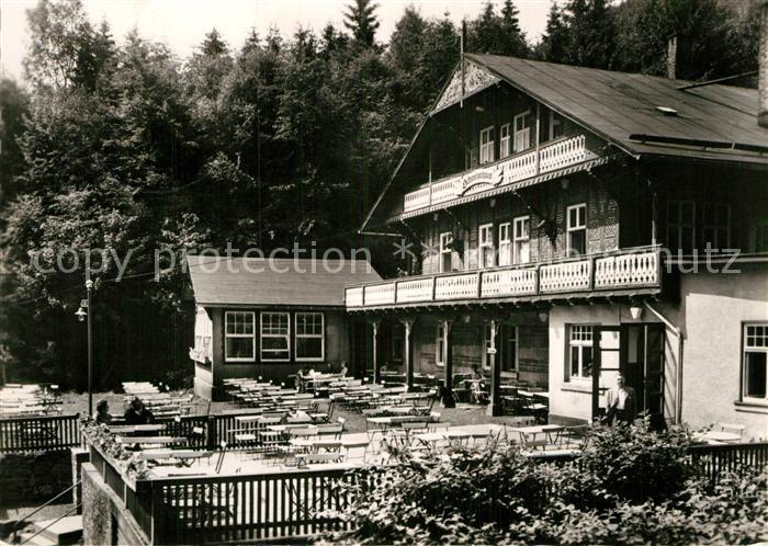 AK / Ansichtskarte Tabarz Schweizerhaus Lauchagrund  Kat. Tabarz Thueringer Wald