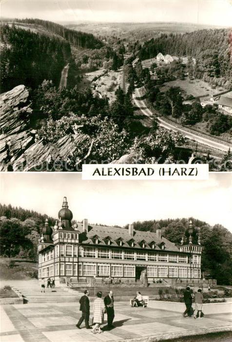 Alexisbad Harz Ferienheim Geschwister Scholl Kat ...