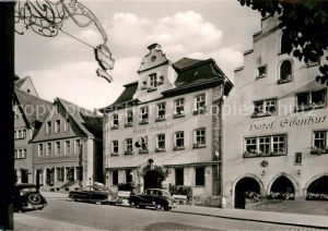 AK / Ansichtskarte Rothenburg Tauber Hotel Eisenhut Kat. Rothenburg ob der Tauber
