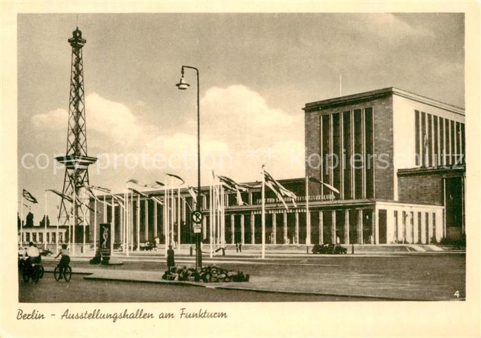 AK / Ansichtskarte Berlin Ausstellungshallen am Funkturm Kat. Berlin