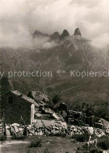 AK / Ansichtskarte Corse Ile de Col de Bavella Les trois Aiguilles Kat. Ajaccio
