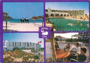 AK / Ansichtskarte Tunis Hotel Lido Kat. Tunis