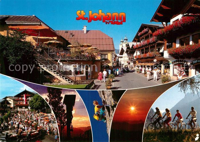 AK / Ansichtskarte St Johann Tirol  Kat. St. Johann in Tirol