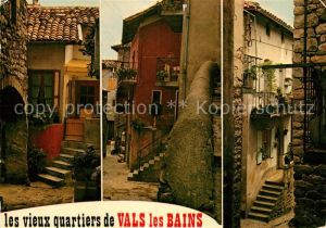 AK / Ansichtskarte Vals les Bains La vieille ville  Kat. Vals les Bains