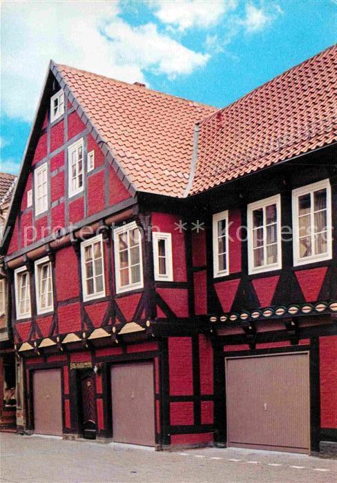 Ak Ansichtskarte Celle Niedersachsen Altstadthaus Hotel Celler Hof Kat Celle