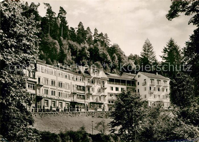 AK / Ansichtskarte Wildbad Schwarzwald Kurheim Pauline Kat. Bad Wildbad