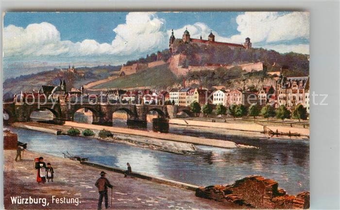 AK / Ansichtskarte Verlag WIRO Wiedemann Nr. 1713 Wuerzburg Festung Kat. Verlage