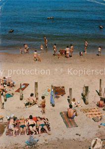 AK / Ansichtskarte Ustronie Morskie Strand Kat. Henkenhagen Pommern
