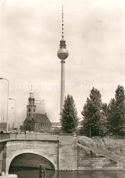 AK / Ansichtskarte Berlin UKW und Fernsehturm Kat. Berlin