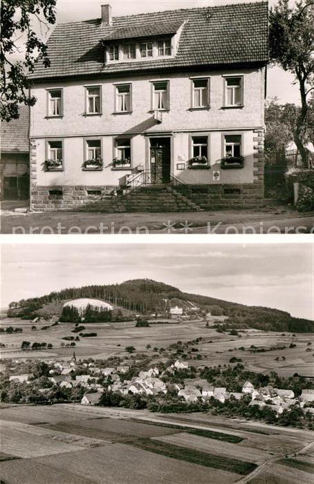 AK / Ansichtskarte Waldkatzenbach Gasthaus Zur Post  Kat. Waldbrunn