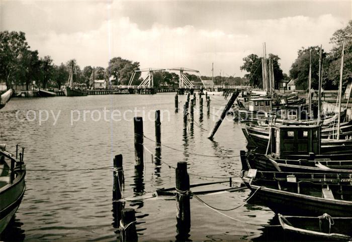 AK / Ansichtskarte Greifswald Fischereihafen