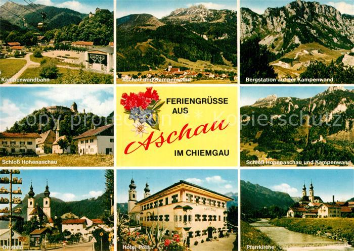 aschau chiemgau kampenwandbahn seilbahn schloss hohenaschau kat aschau i chiemgau nr ke13277. Black Bedroom Furniture Sets. Home Design Ideas