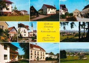 AK / Ansichtskarte Lohnsburg Kobernausserwald Orts und Telansichten Kat. Lohnsburg am Kobernausserwald