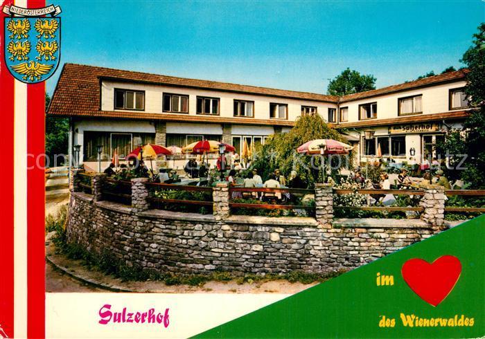 AK / Ansichtskarte Sulz Weinviertel Sulzerhof Terrasse Kat. Sulz im Weinviertel