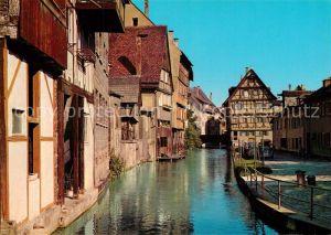 AK / Ansichtskarte Ulm Donau Altstadt Partie an der Blau Kat. Ulm
