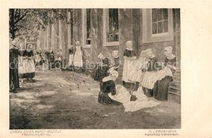 AK / Ansichtskarte Liebermann Ernst Waisenhaus in Amsterdam  Kat. Kuenstlerkarte