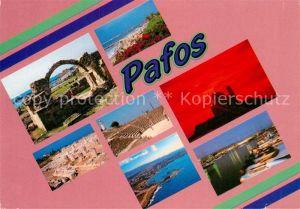 AK / Ansichtskarte Paphos Ruinen Hafen  Kat. Paphos Cyprus