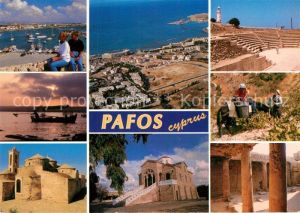 AK / Ansichtskarte Paphos Hafen Ruinen  Kat. Paphos Cyprus