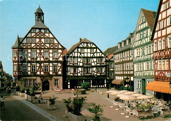 AK / Ansichtskarte Gruenberg Hessen Marktplatz Kat. Gruenberg Nr ...