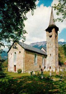 AK / Ansichtskarte Zillis Kirche Sankt Martin  Kat. Zillis