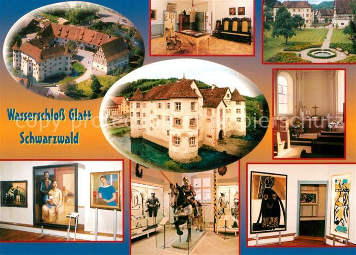 AK / Ansichtskarte Glatt Wasserschloss Kat. Sulz am Neckar