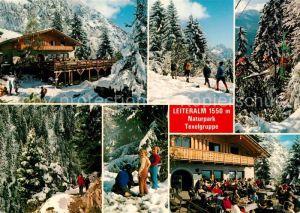 AK / Ansichtskarte Vellau Naturpark Texelgruppe Leiteralm Winter
